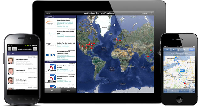 Rolls-Royce MyAeroengine Support App for iPad, iPhone and Android